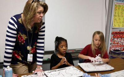 Florence One elementary schools adopt multi-sensory approach to reading