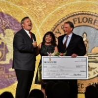 Sharri Duncan, Florence 1 Schools Teacher of the Year awarded $1,000 check