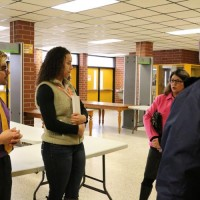 Wilson principal tells group: 'We try to put students first'.