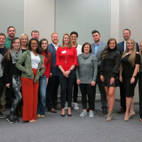 Dance partners for the 2020 Dancing For Our Future Stars meet
